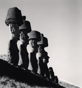 2000 Moai, Study 9, Ahu Nau Nau, Easter Island, 2000
